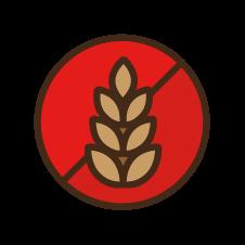 Icon: Zero grains and fillers