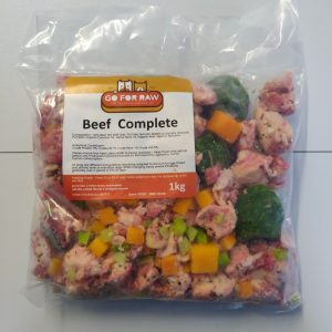 beef complete Go for raw